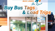 Purchase your bus ticket at the Loch Logan Waterfront